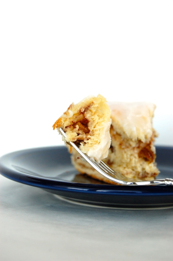 Cinnamon Pecan Bread (King Cake!) | thelittlebluemixer